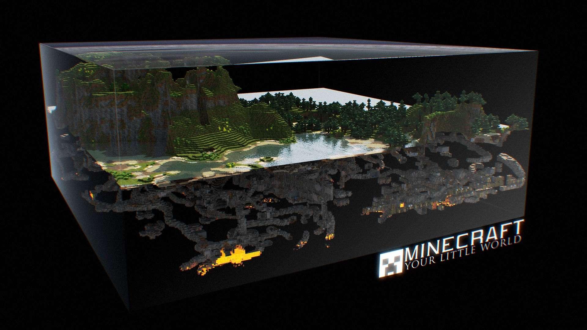 minecraft wallpaper,freshwater aquarium,aquarium
