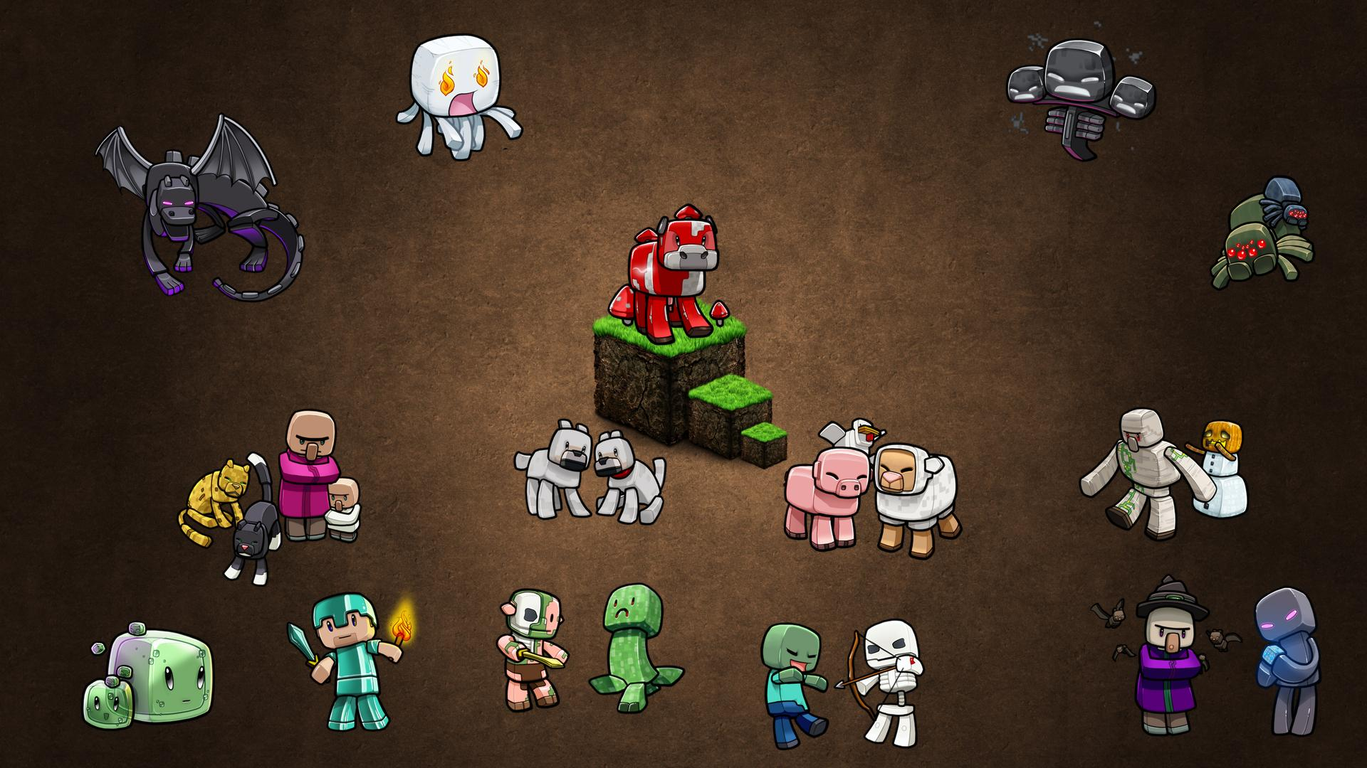minecraft wallpaper,games,action figure,fictional character,adventure game,toy