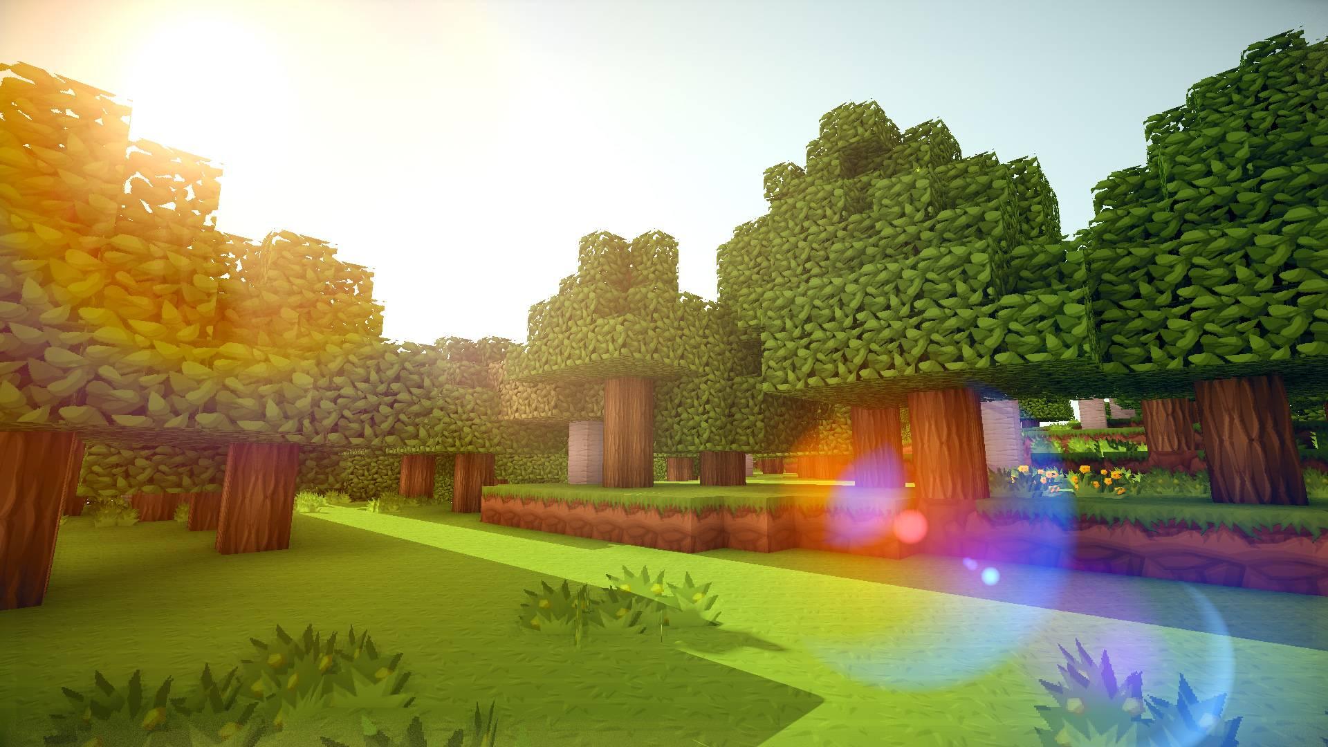 minecraft wallpaper,natural landscape,tree,biome,grass,sky