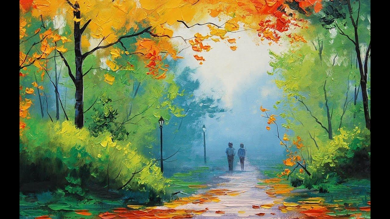oil painting wallpaper hd,natural landscape,painting,nature,watercolor paint,acrylic paint