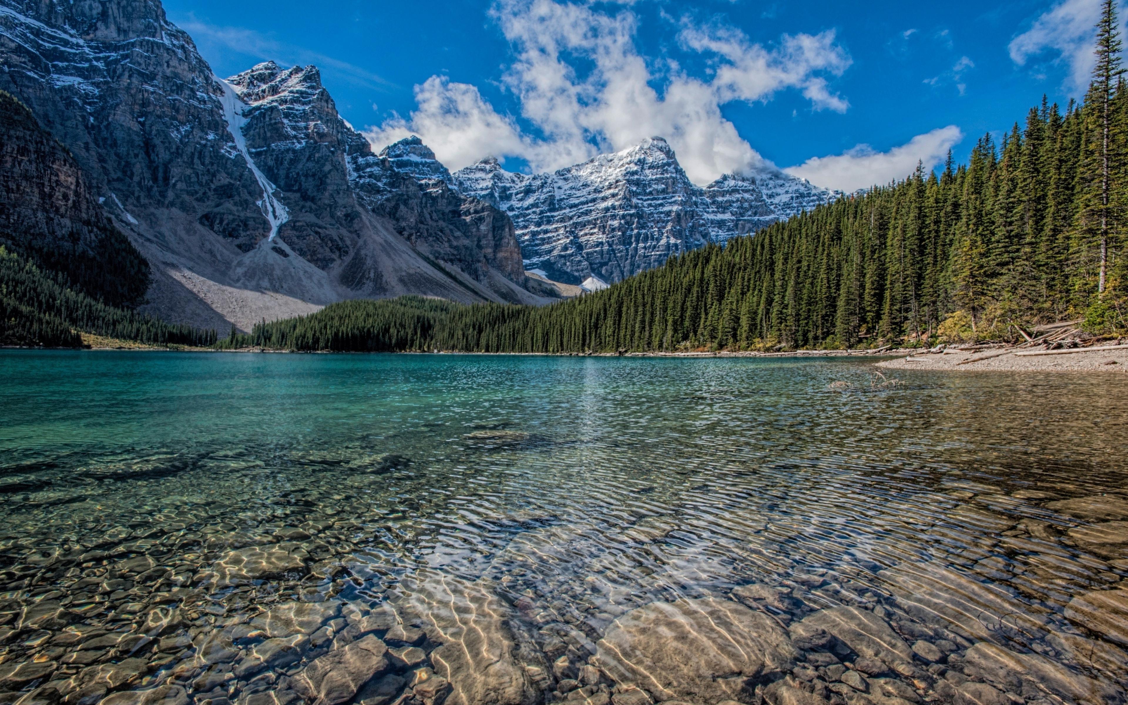 3840x2400 wallpaper,natural landscape,nature,mountain,body of water,mountainous landforms