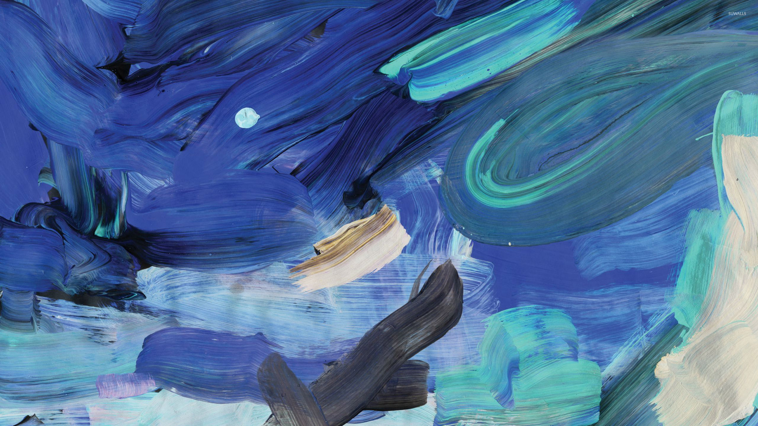 paint strokes wallpaper,blue,painting,water,art,watercolor paint