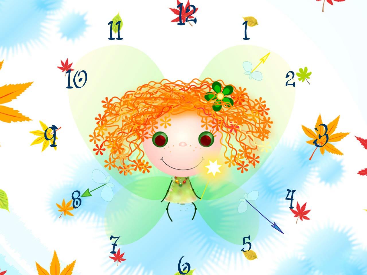 love clock live wallpaper,cartoon,illustration,child art,fictional character,smile