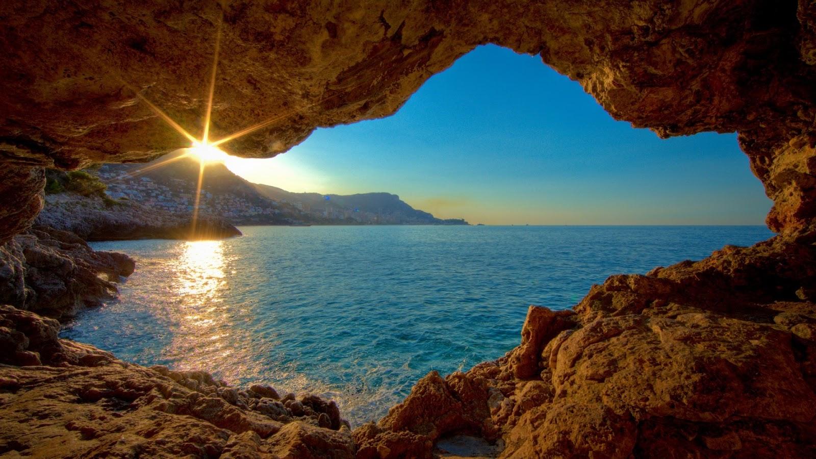 scenery wallpaper hd 1080p,nature,sea,formation,sky,coastal and oceanic landforms