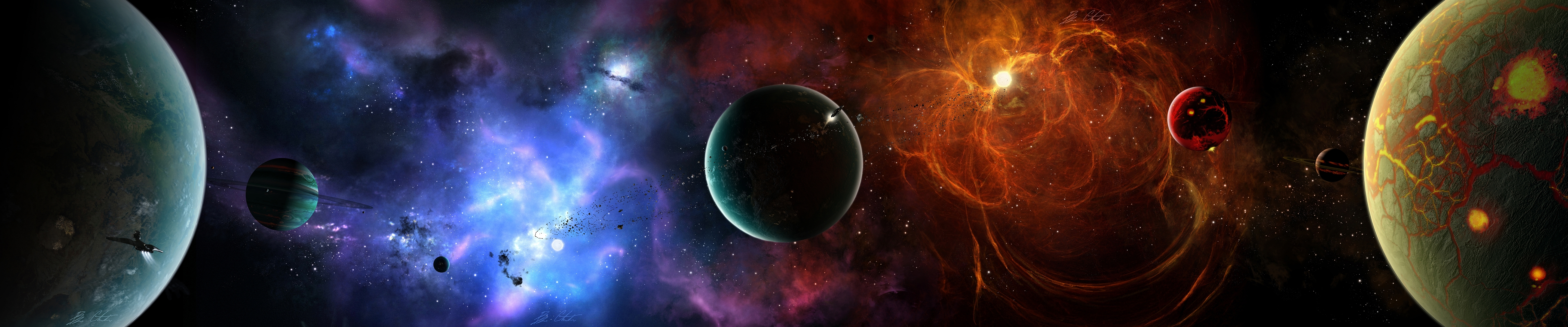4480x1080 wallpaper,outer space,astronomical object,atmosphere,space,universe