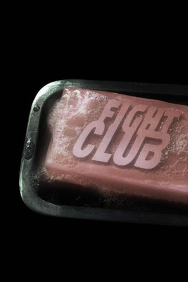 fight club wallpaper iphone,font,rectangle