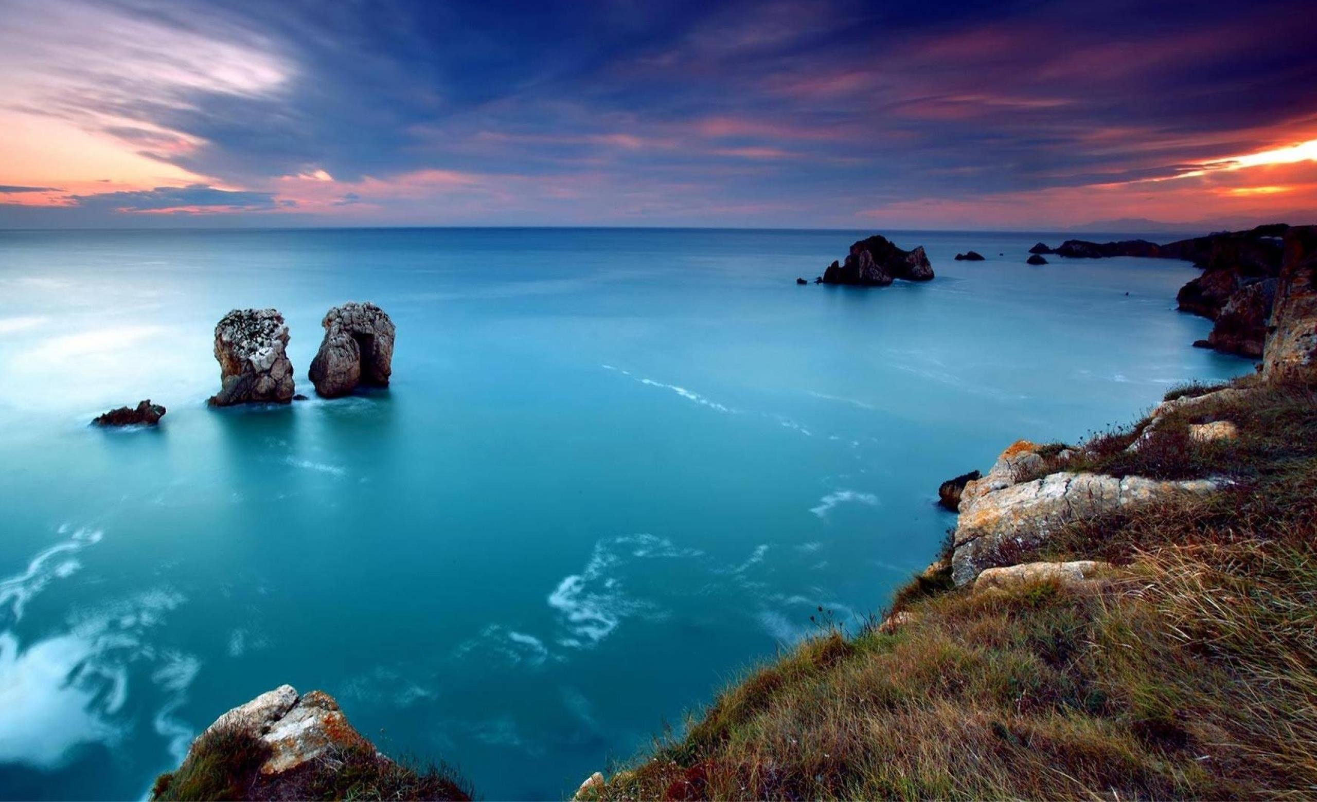 sea view wallpaper,body of water,nature,natural landscape,sea,sky