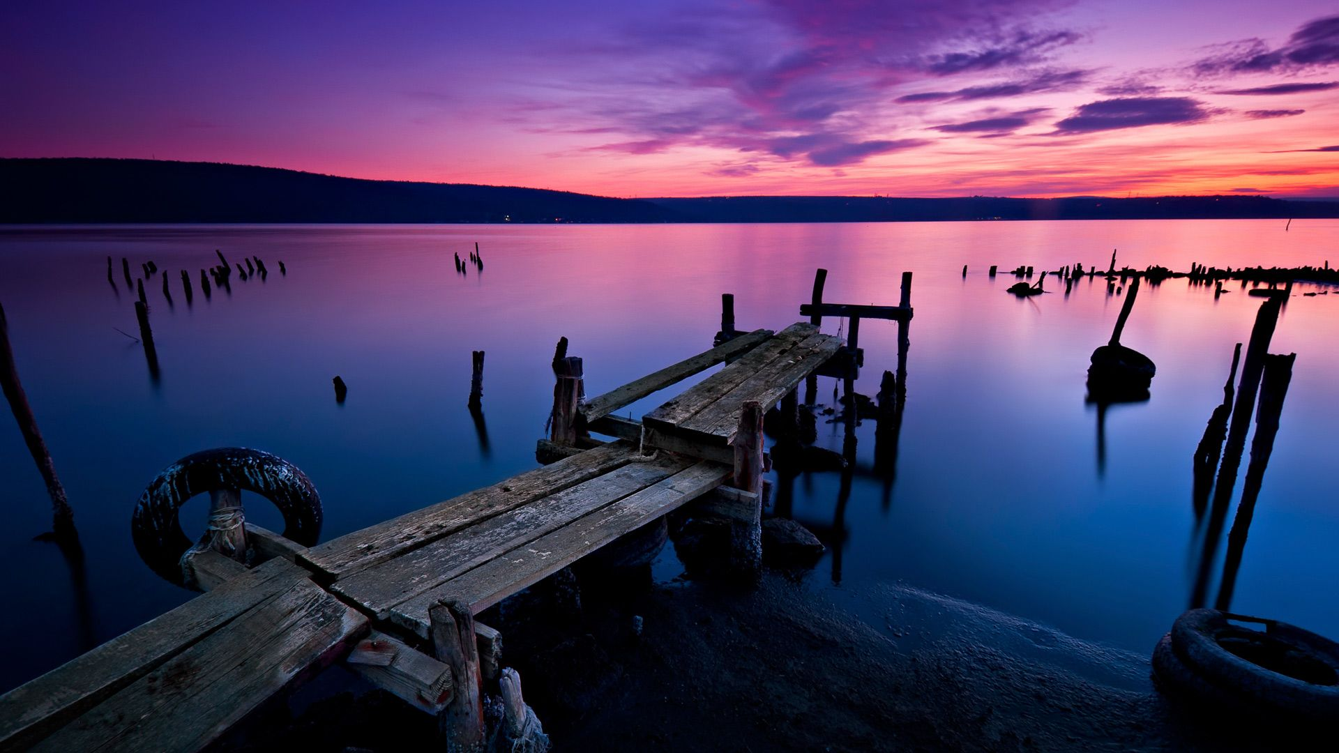 lock screen wallpapers hd for windows 10,sky,water,nature,pier,sunset