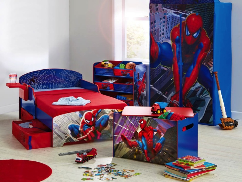 cool wallpapers for boys,spider man,product,room,superhero,furniture