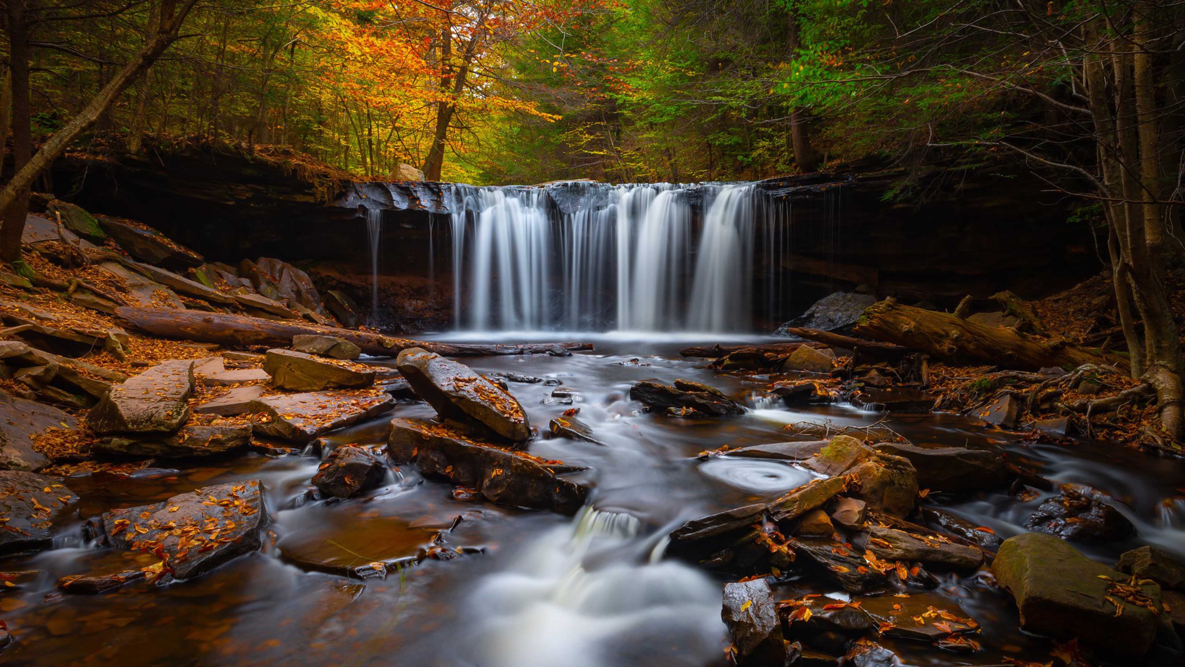 4k ultra hd wallpapers,waterfall,body of water,natural landscape,nature,water resources