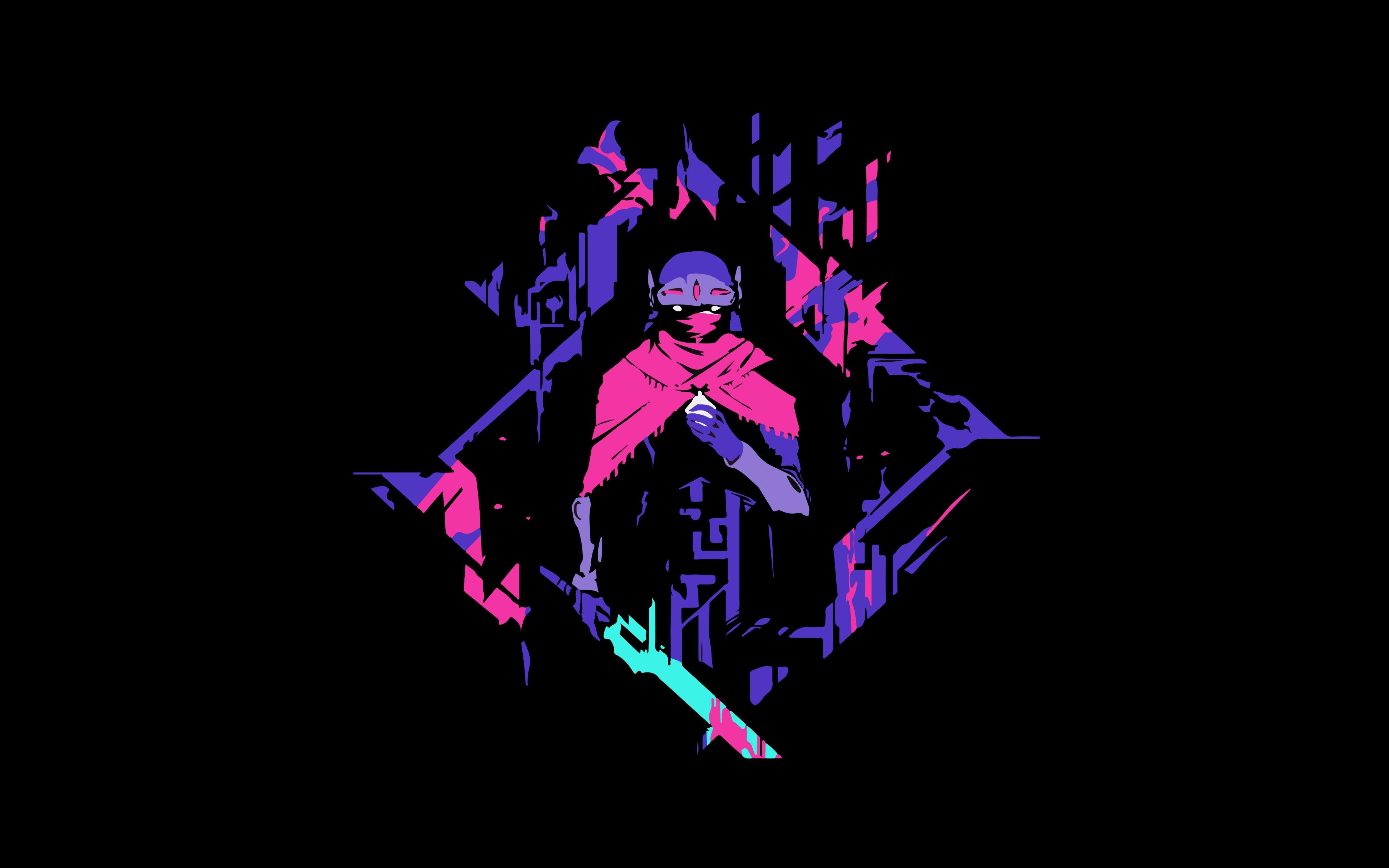 4k gaming wallpaper,graphic design,illustration,purple,magenta,art