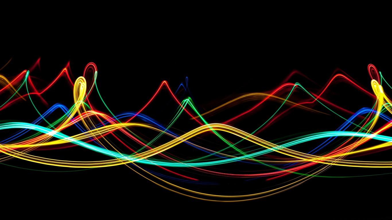 wallpaper com movimento,light,neon,line,graphic design,design