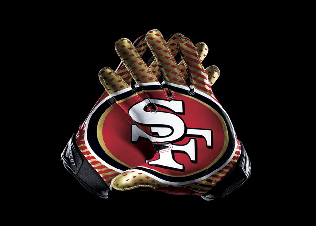 san francisco 49ers wallpaper,baseball glove,glove,fashion accessory,personal protective equipment,sports gear