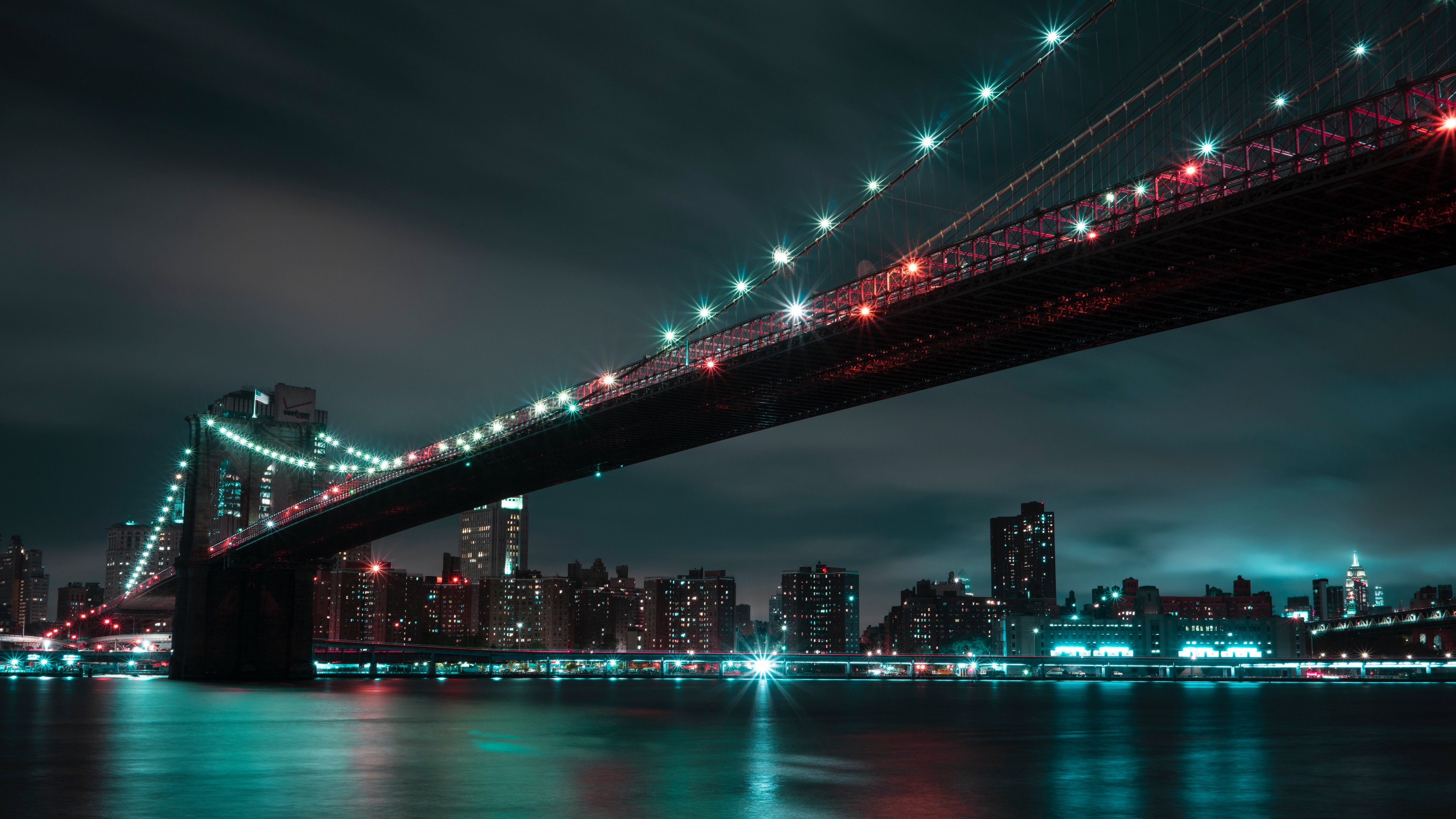 wallpaper 1366 x 786 hd,metropolitan area,night,cityscape,bridge,city