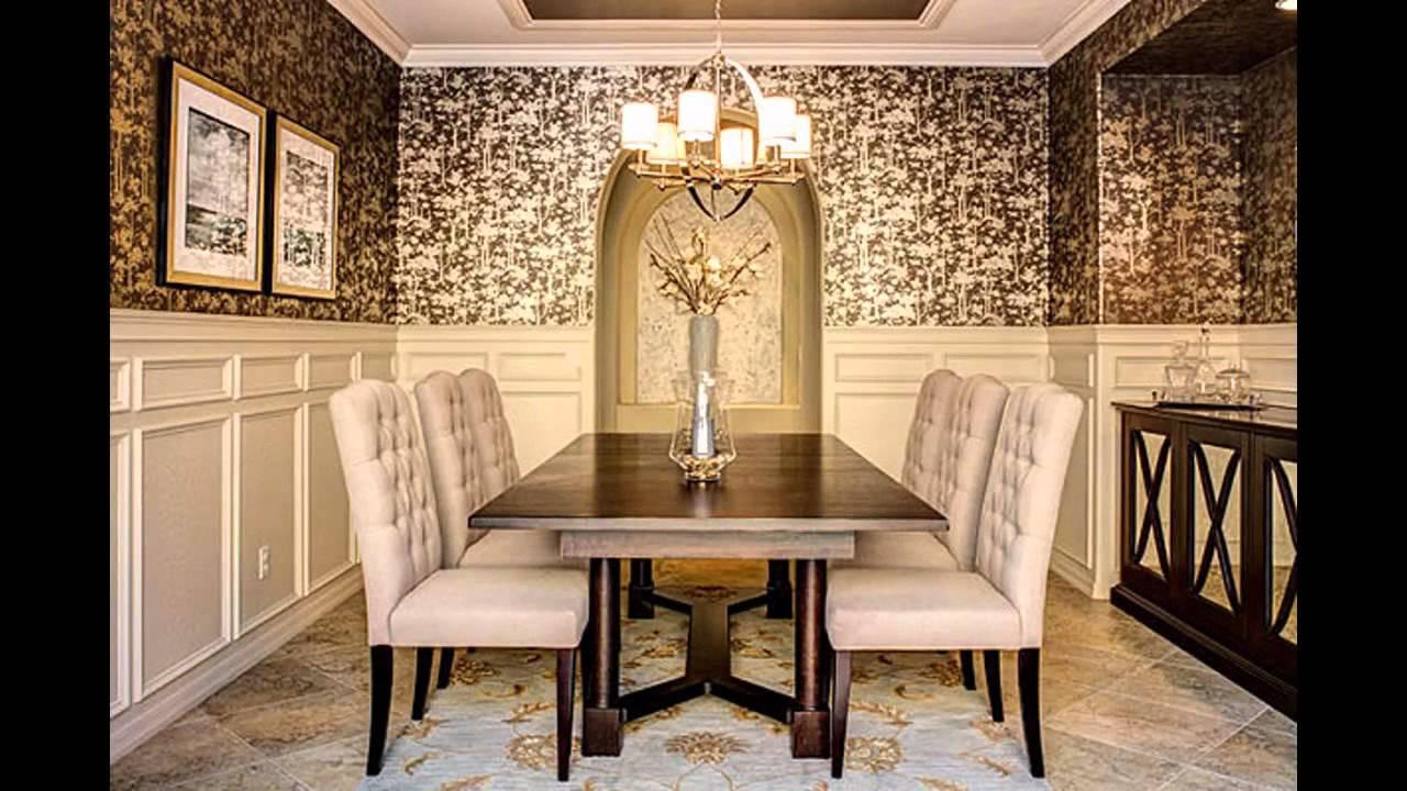 wallpaper designs for dining room,room,dining room,interior design,property,furniture