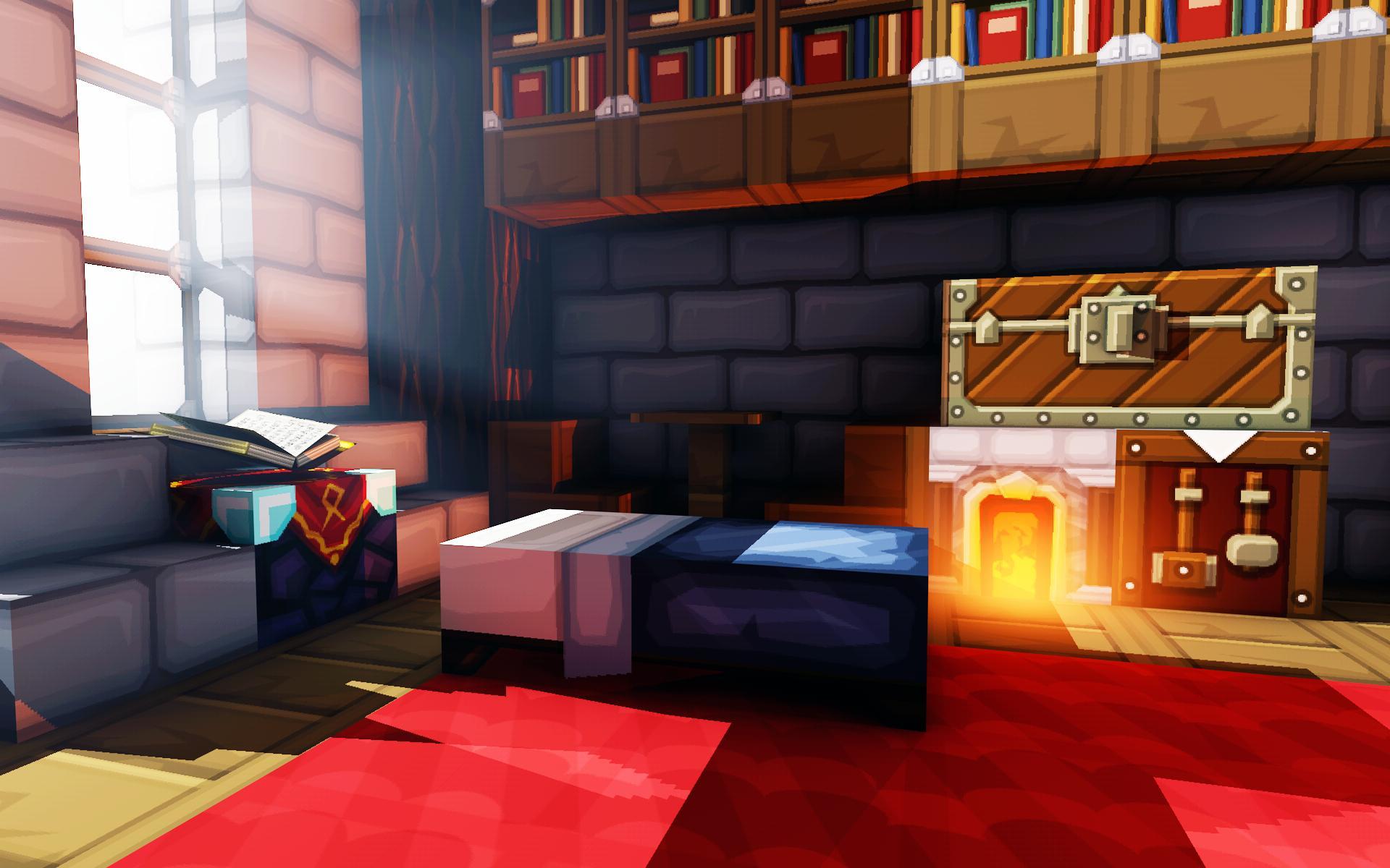 minecraft room wallpaper,room,furniture,interior design,living room,bedroom