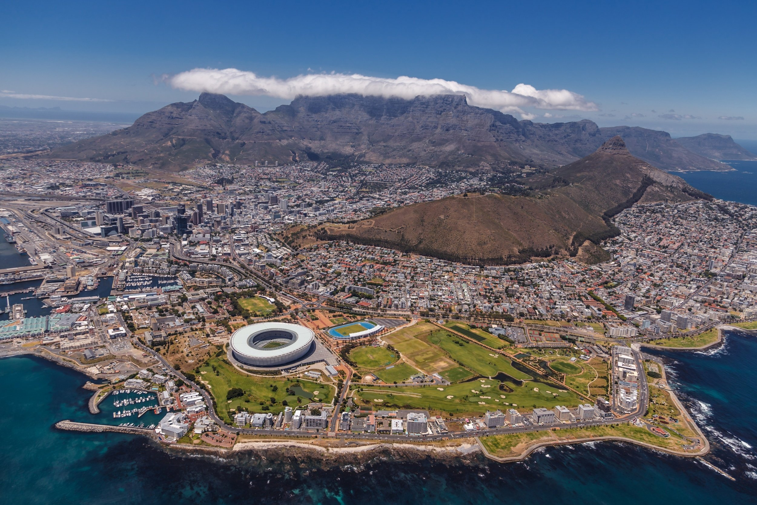 cape town wallpaper hd,aerial photography,bird's eye view,natural landscape,island,artificial island
