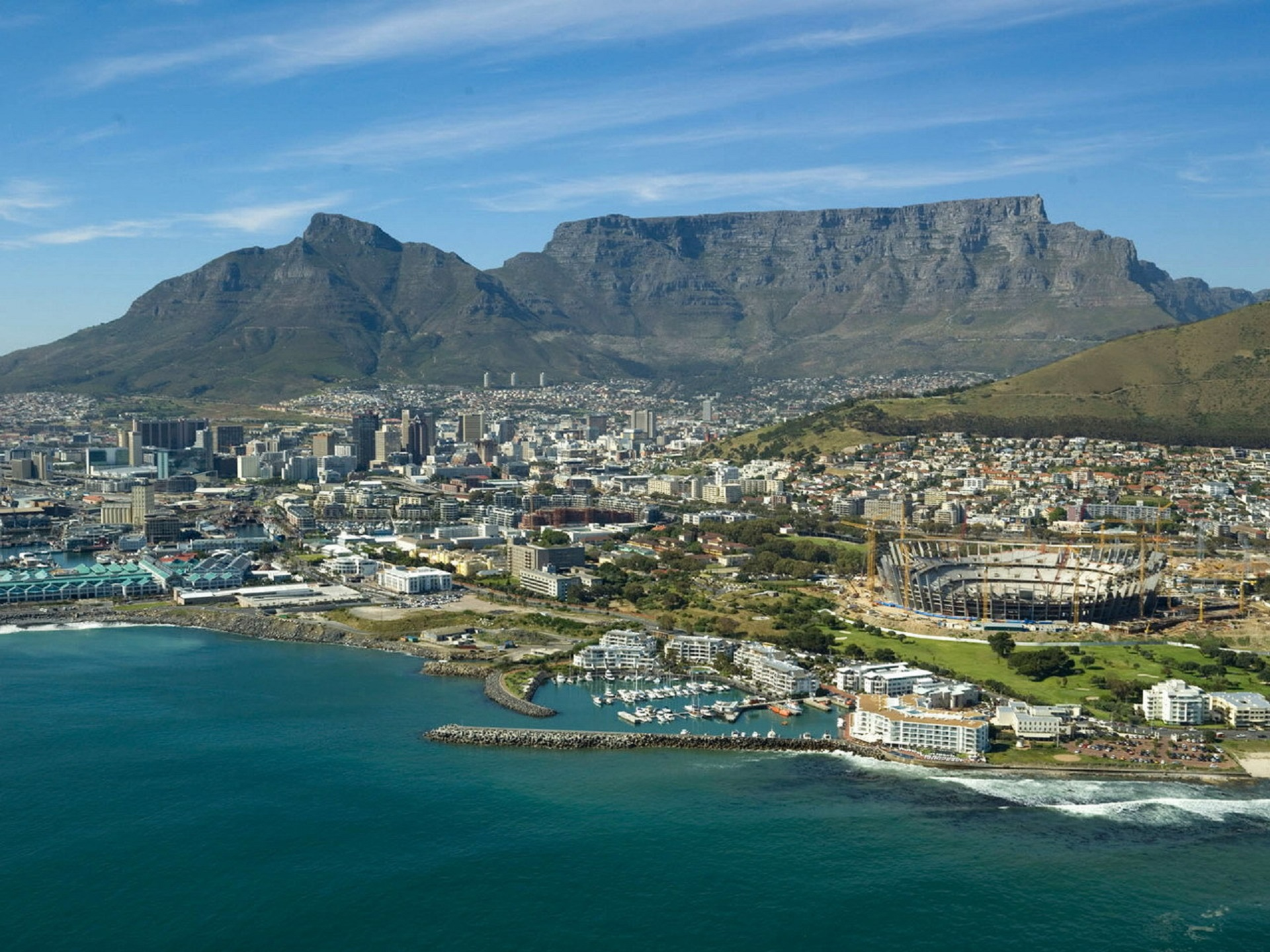 cape town wallpaper hd,body of water,coast,promontory,town,sea
