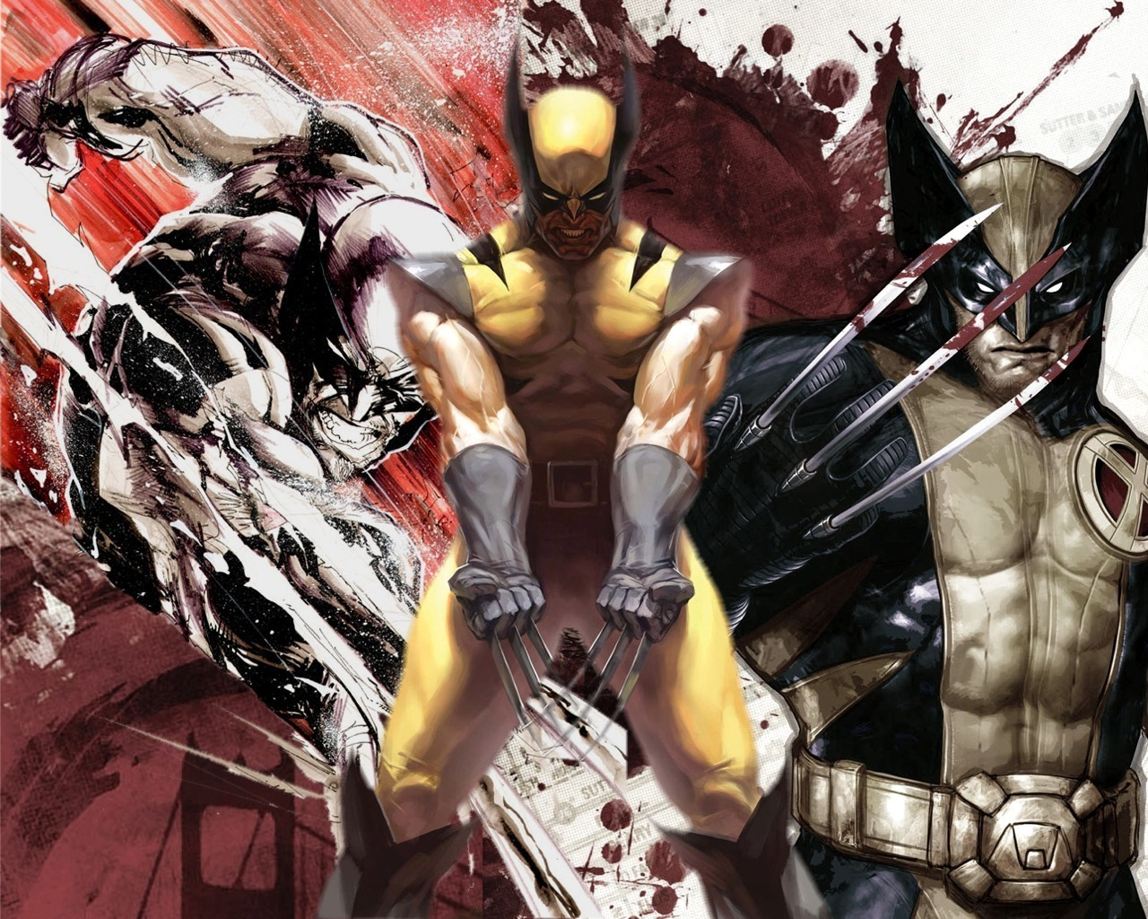 x man wolverine hd wallpaper,fictional character,superhero,cg artwork,fiction,wolverine