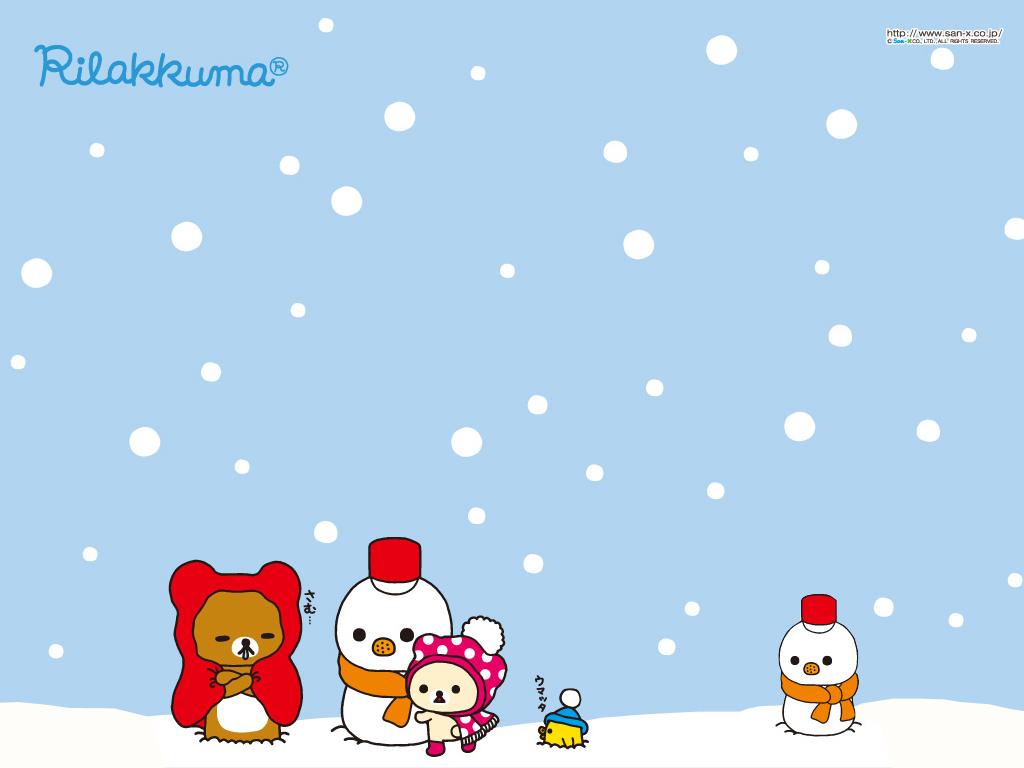kawaii christmas wallpaper,cartoon,winter,christmas eve,christmas,fictional character
