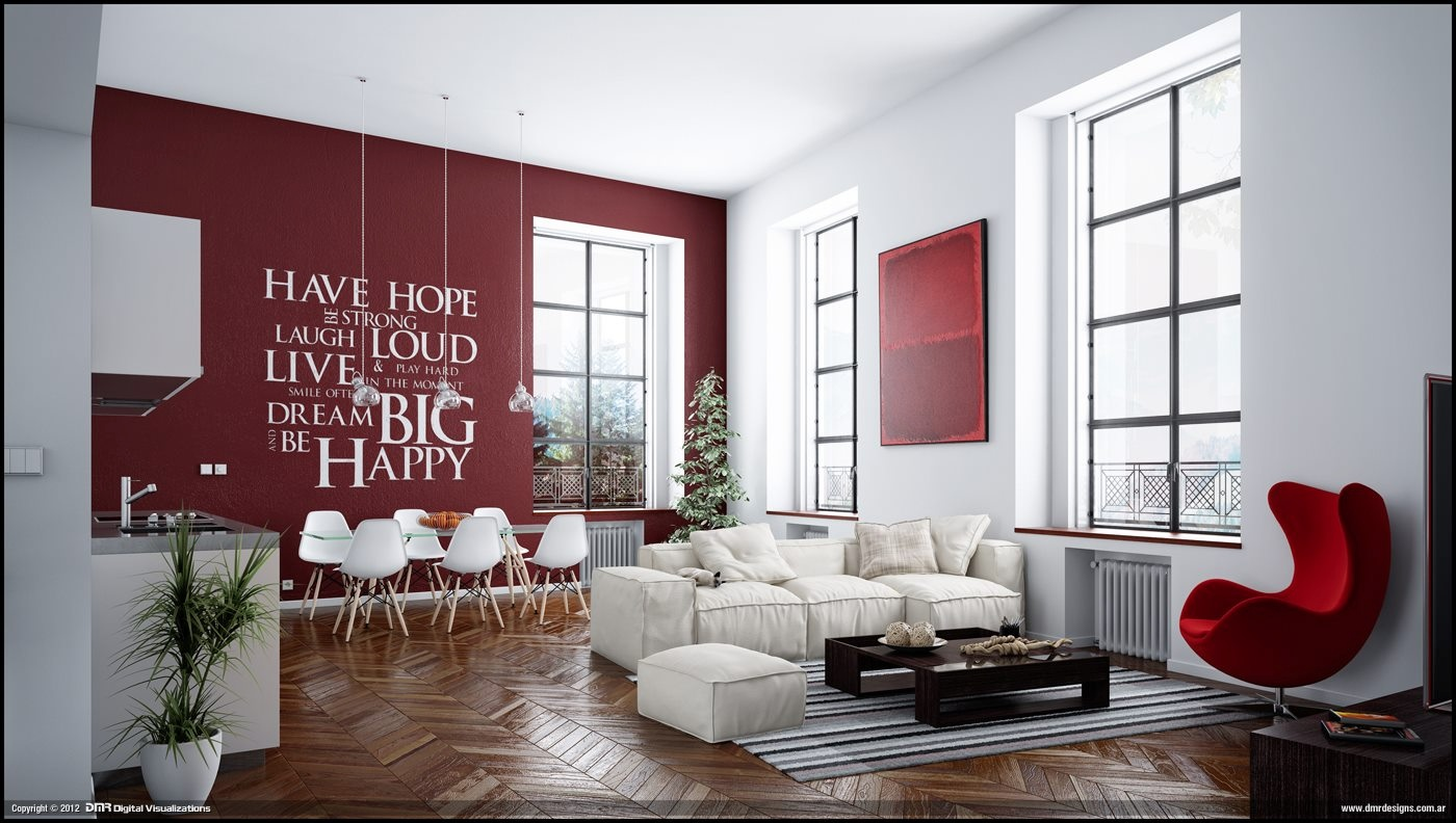 red wallpaper designs for living room,living room,furniture,room,interior design,couch