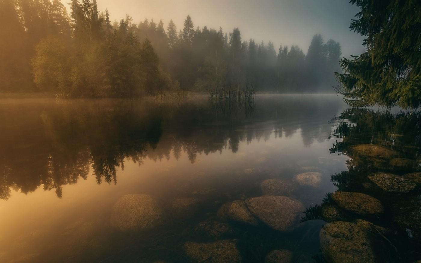 finland wallpaper,nature,reflection,natural landscape,sky,atmospheric phenomenon