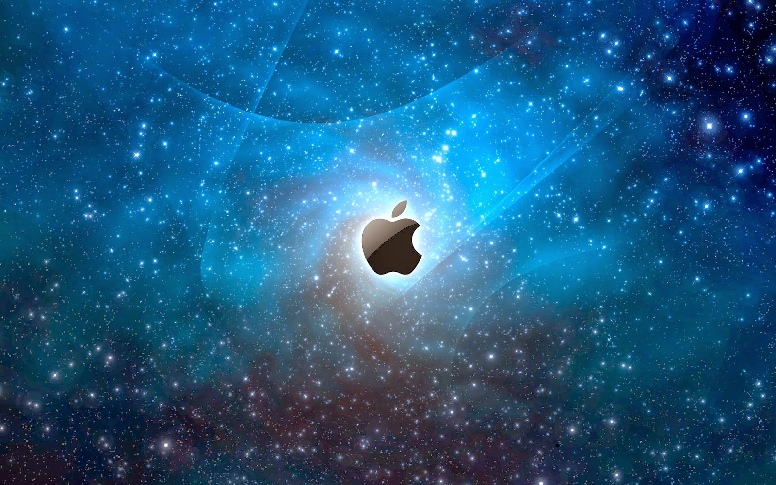 new apple wallpapers,outer space,atmosphere,sky,astronomical object,space