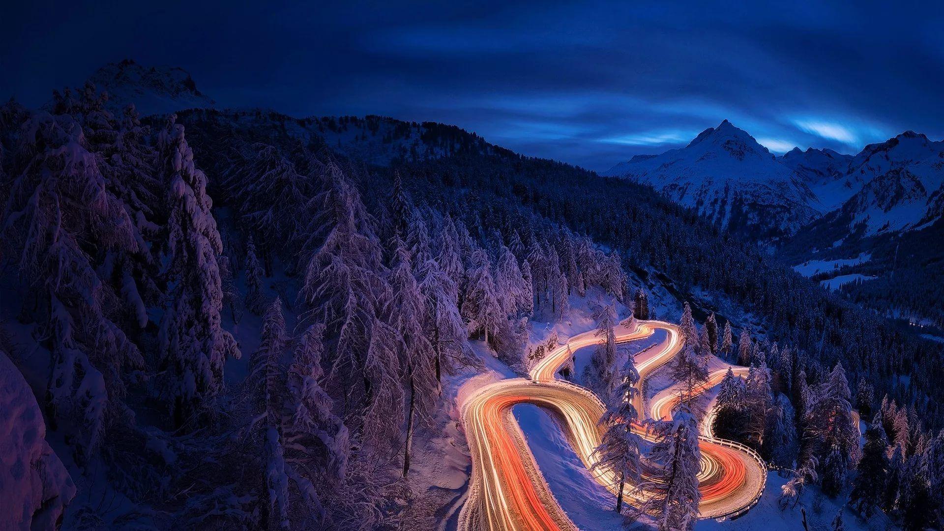 happy wallpaper,sky,mountain,geological phenomenon,landscape,night