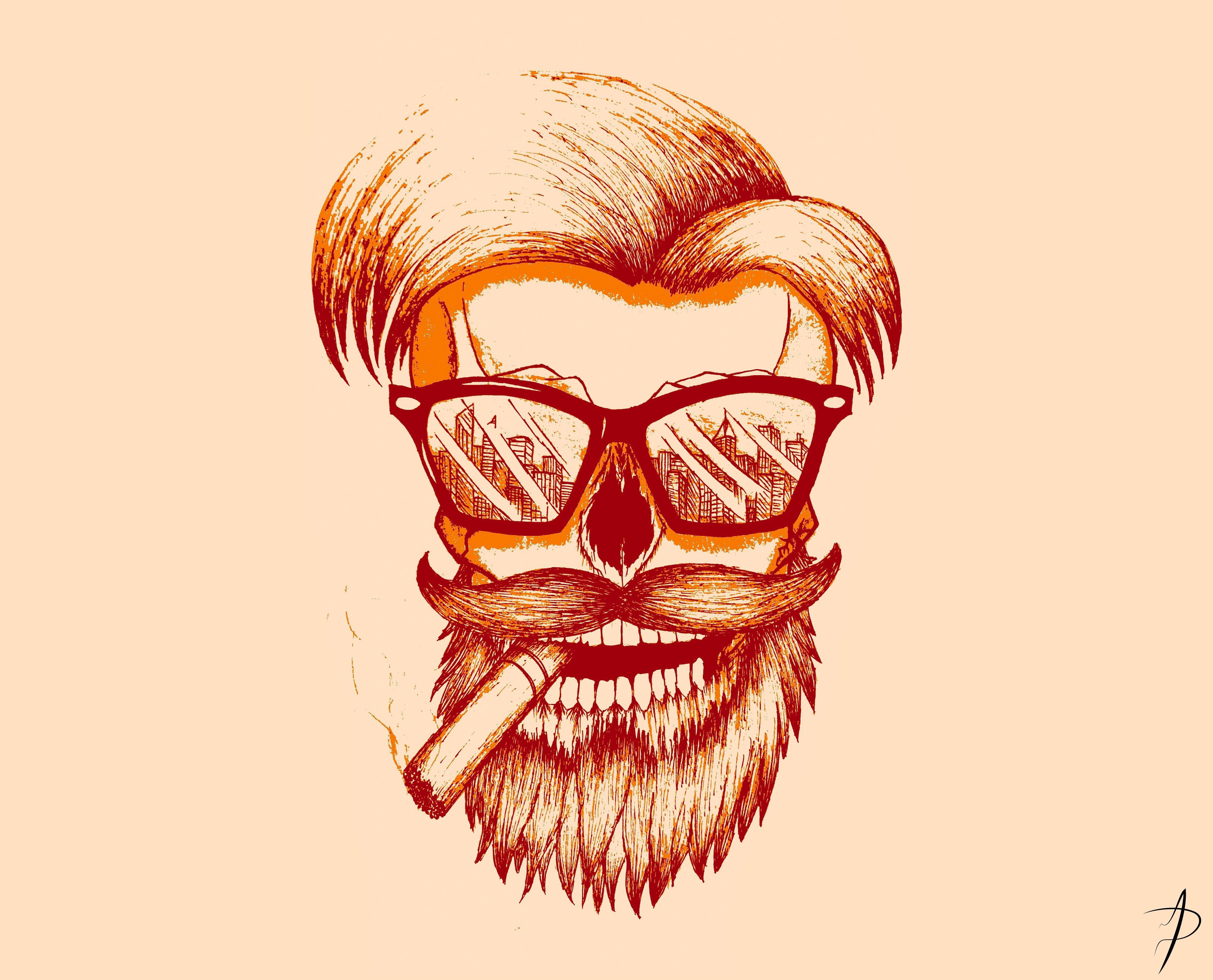 beard man wallpaper hd,face,facial hair,beard,illustration,nose