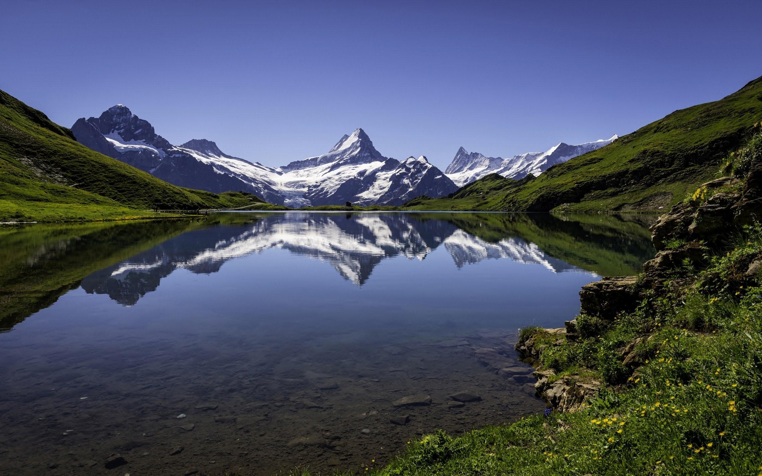 4k ultra hd nature wallpapers,mountainous landforms,mountain,natural landscape,nature,reflection