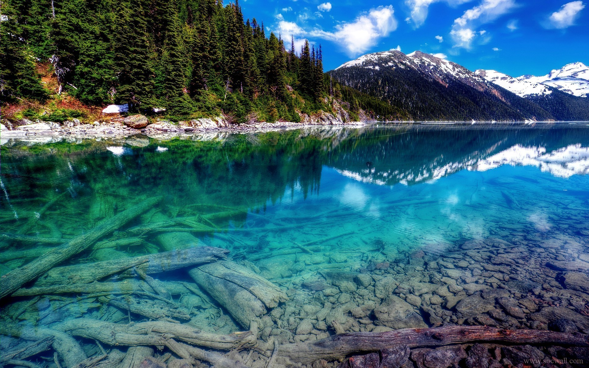 4k ultra hd nature wallpapers,natural landscape,nature,body of water,mountain,reflection