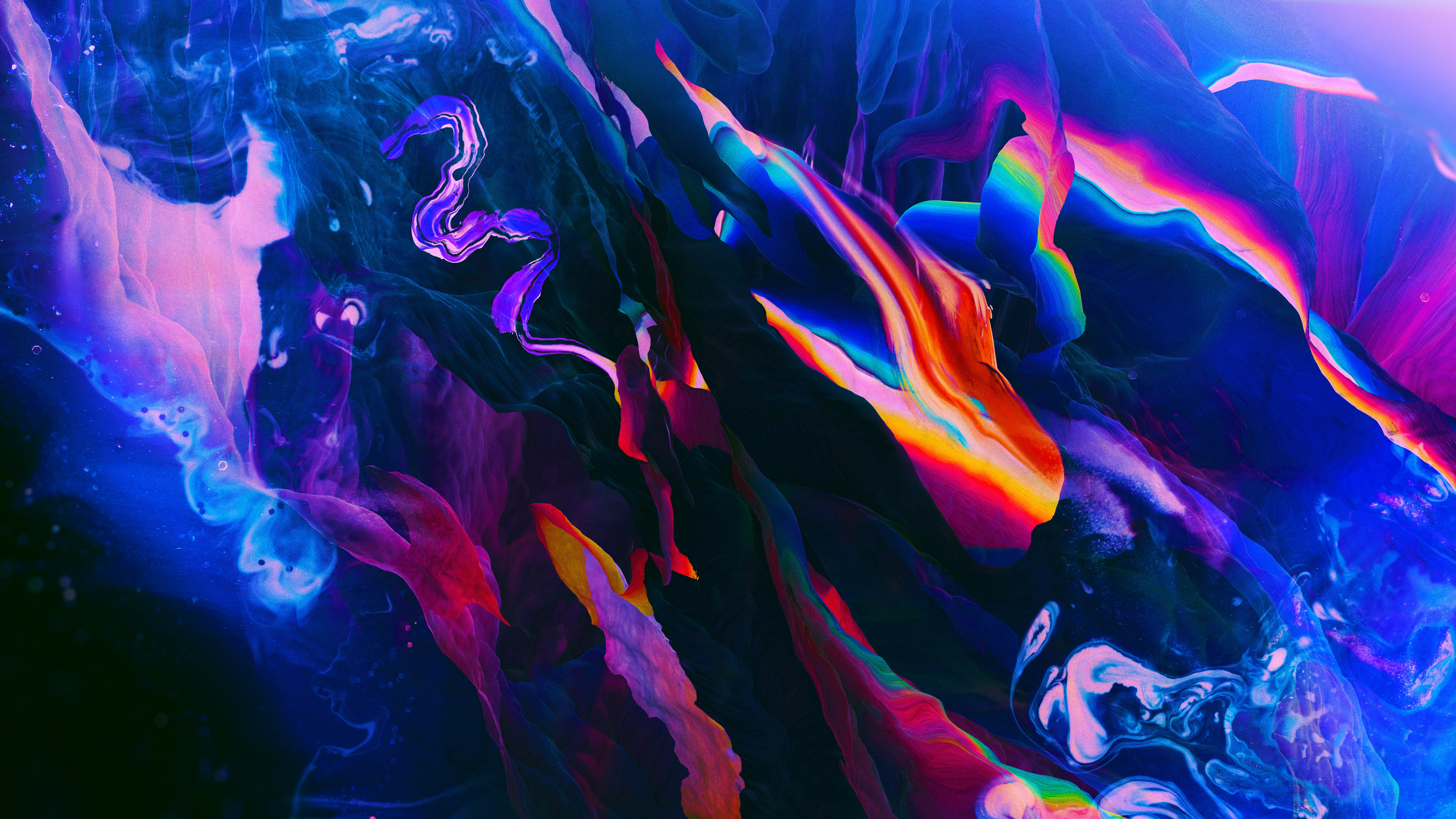8k abstract wallpaper,blue,light,water,purple,red
