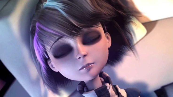 anna blue wallpaper,hair,face,purple,beauty,hairstyle