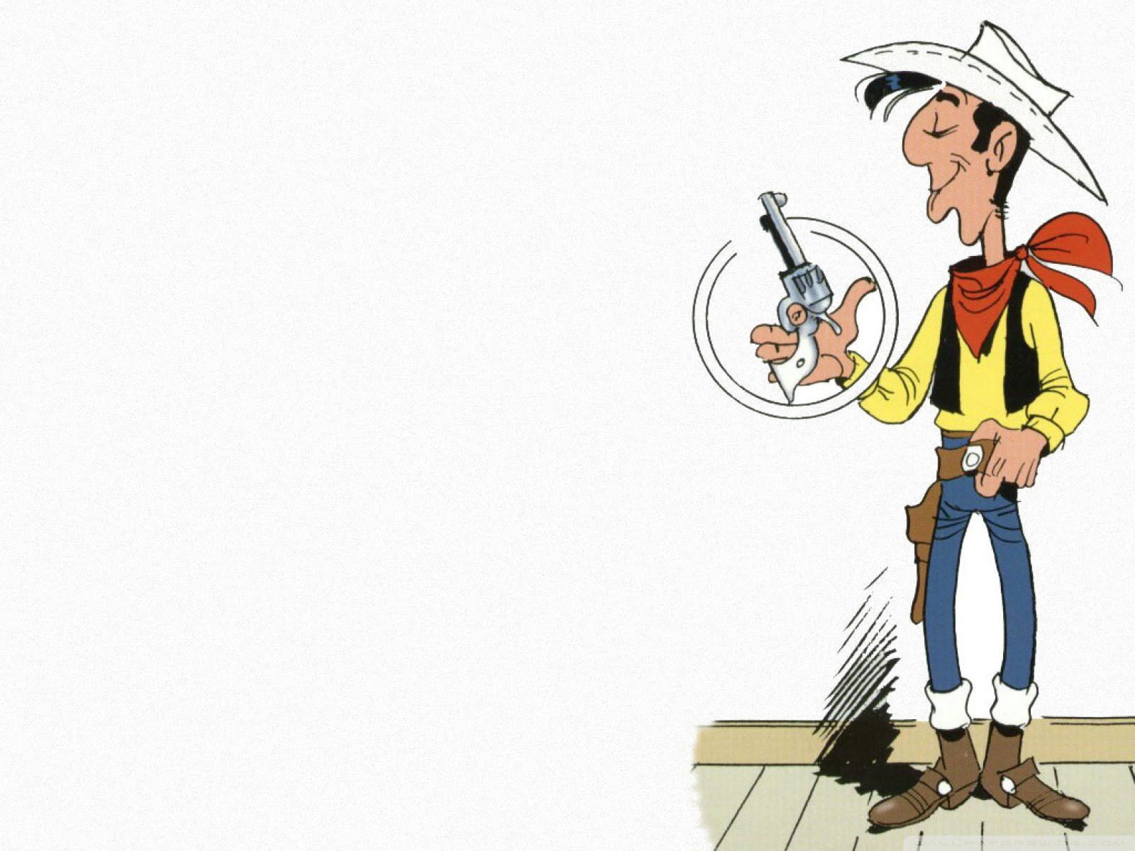 lucky luke wallpaper,cartoon,illustration,art,clip art,fictional character