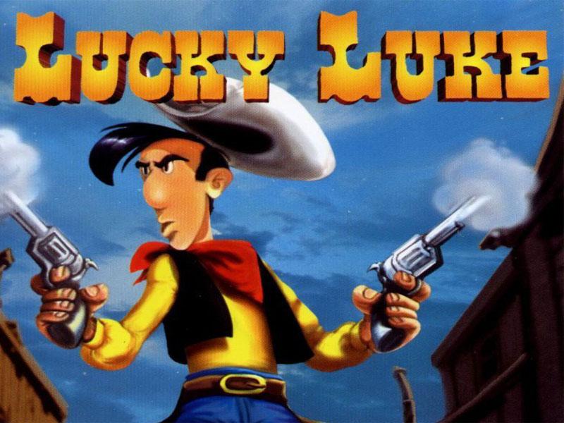 lucky luke wallpaper,animated cartoon,action adventure game,adventure game,cartoon,movie