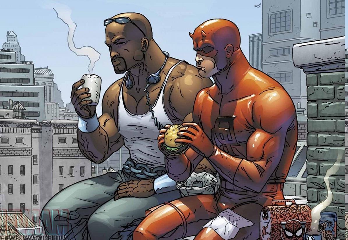 luke cage wallpaper,cartoon,fictional character,comics,fiction,superhero