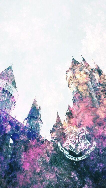 wallpaper do harry potter,pink,illustration,sky,architecture,graphic design