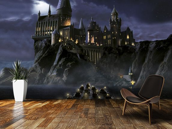 Tapete Harry Potter Himmel Schloss Wasserburg Spiele Cg Kunstwerk 423418 Wallpaperuse