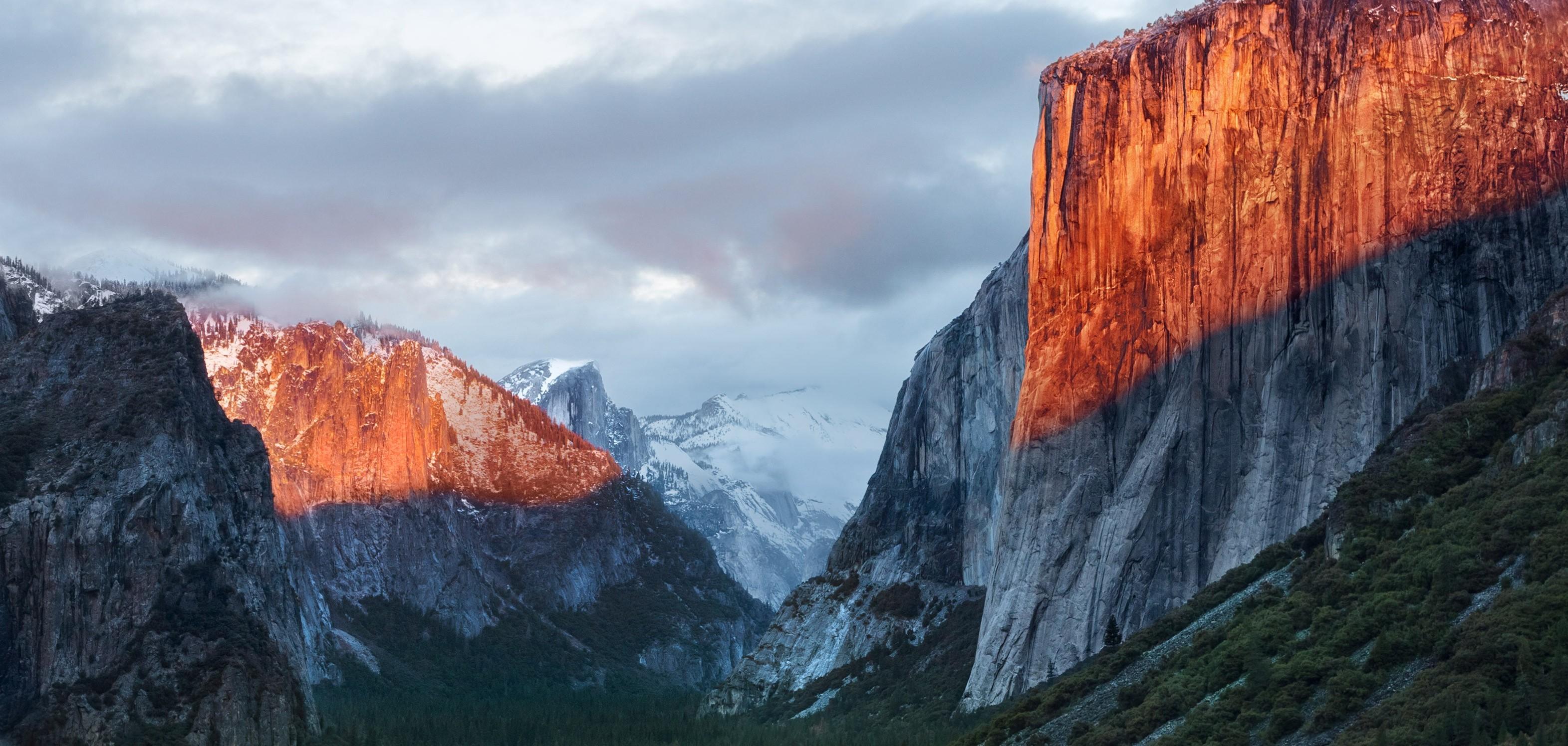mac os x el capitan wallpaper,mountainous landforms,mountain,natural landscape,nature,sky
