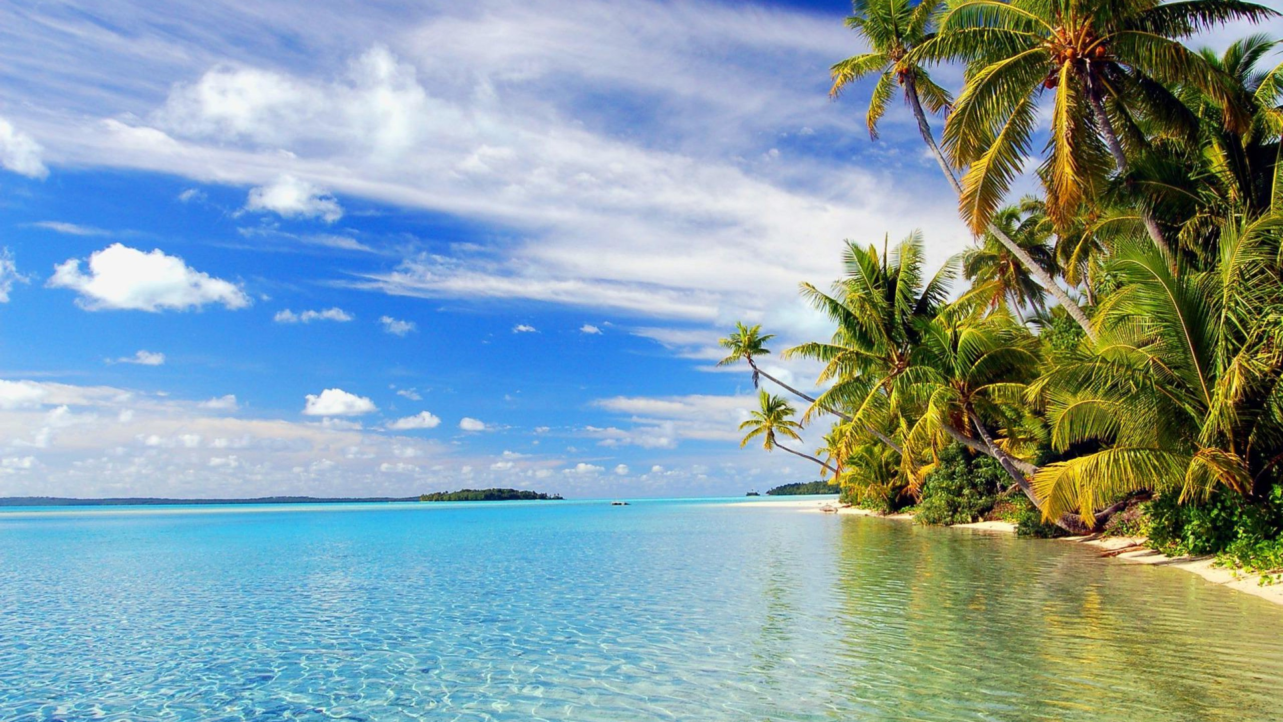 best beach wallpapers,body of water,natural landscape,nature,tropics,sky