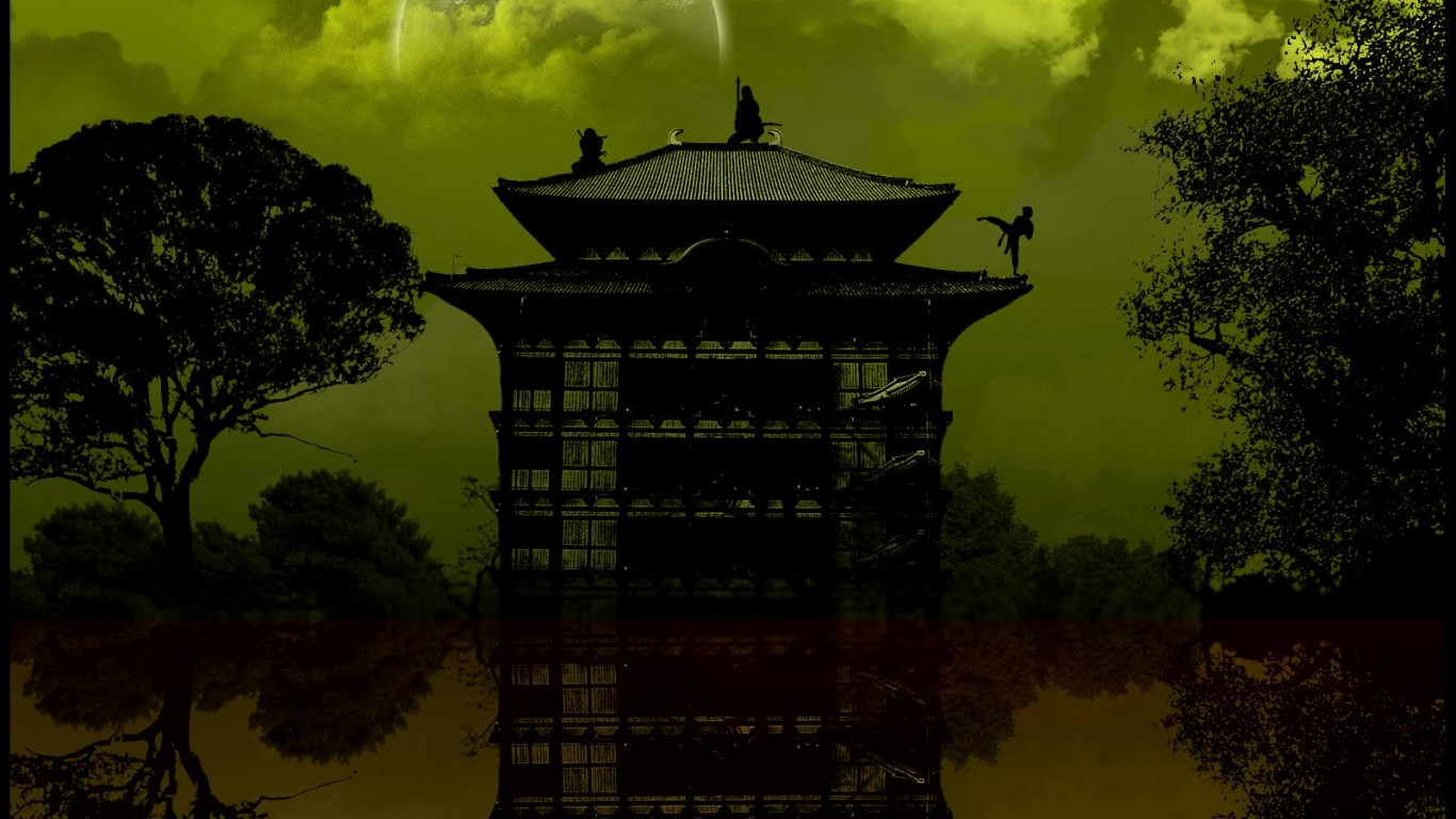 1366 x 768 resolution wallpaper,landmark,sky,architecture,tree,atmosphere