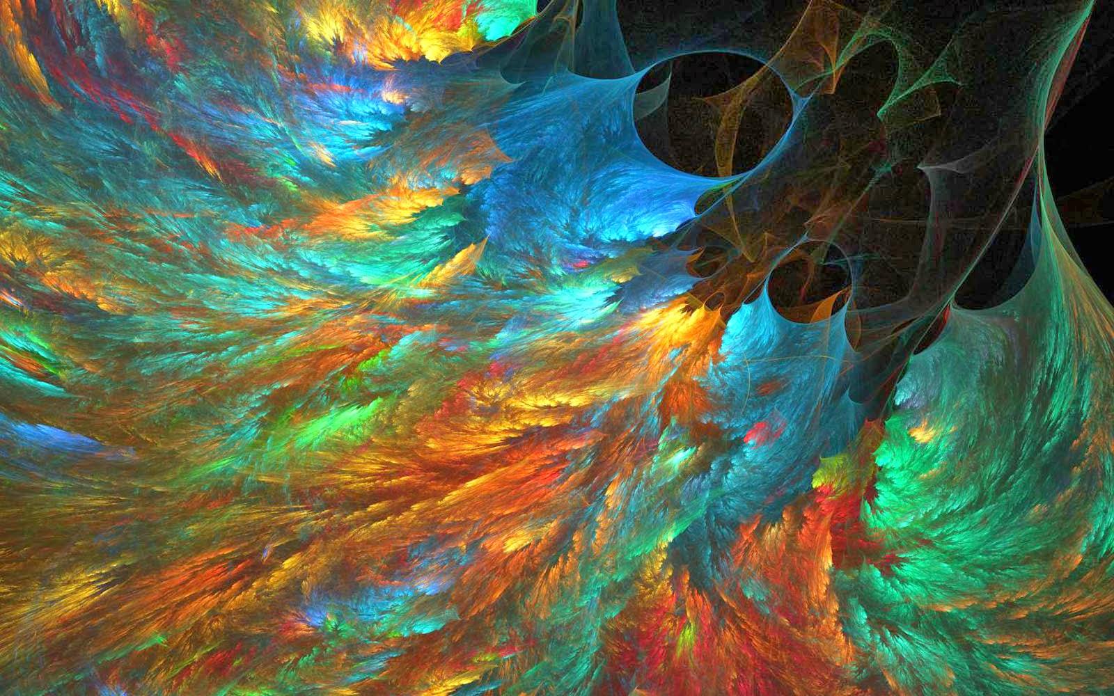 abstract art wallpaper hd,fractal art,art,orange,water,painting