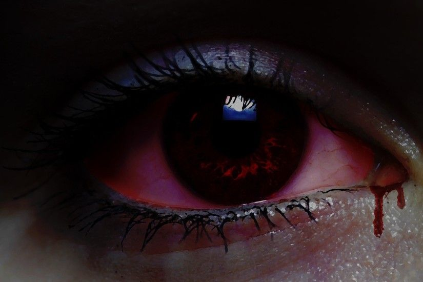 bloody eyes wallpaper,eye,eyebrow,iris,eyelash,close up