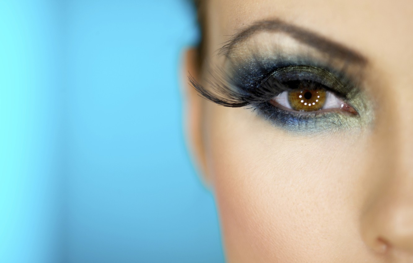 eye makeup wallpaper,face,eyebrow,eyelash,eye,blue