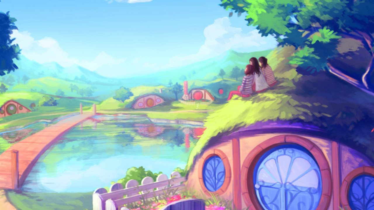 hd wallpapers for mac,painting,cartoon,illustration,summer,watercolor paint