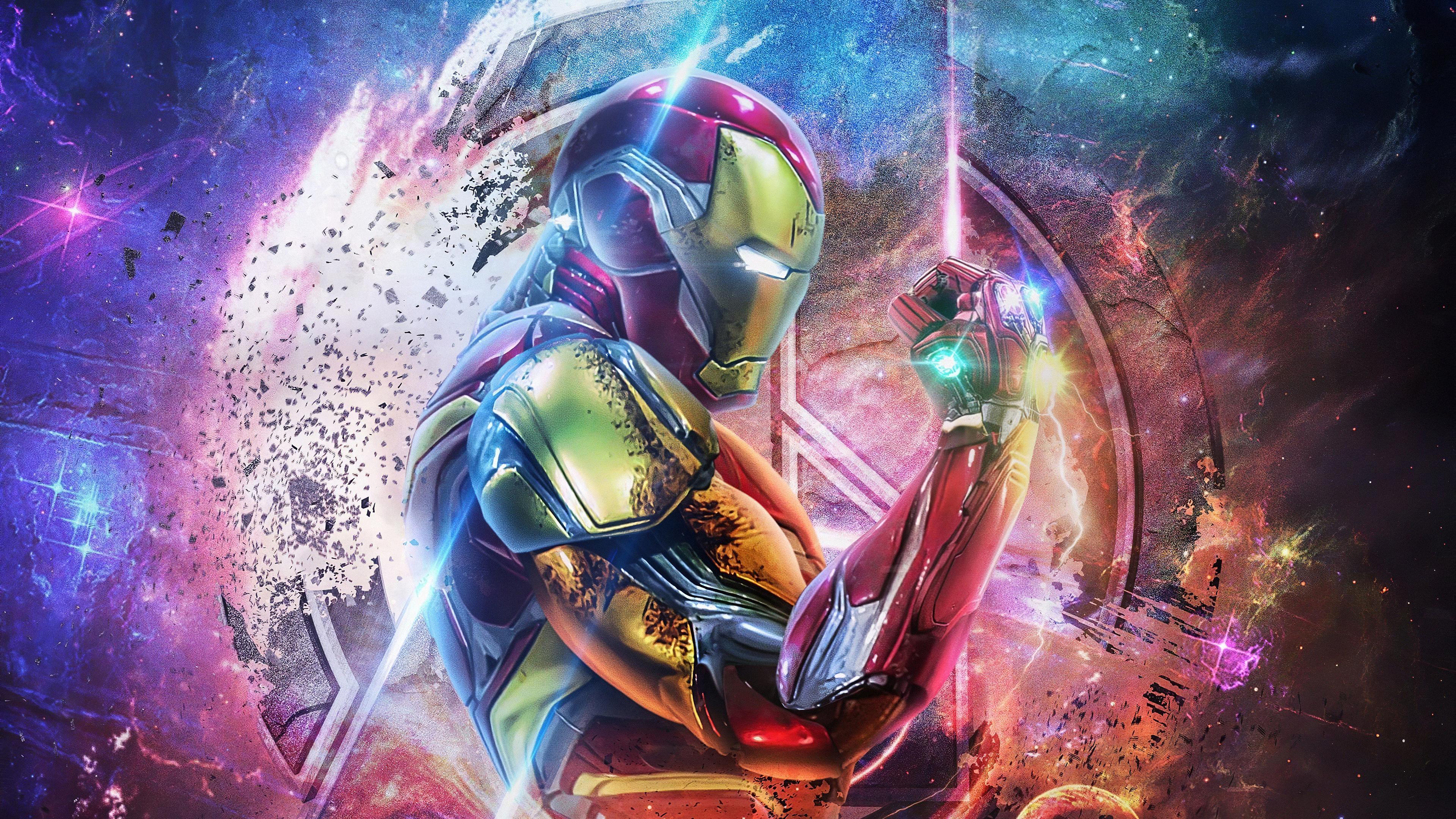 iron man wallpaper,cg artwork,fictional character,graphic design,space,illustration