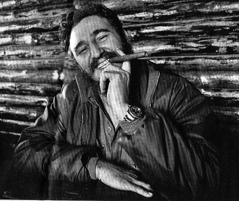 Fidel Castro Cigar Rolex 800673 222203 Hd Wallpaper - Fidel Castro Rolex