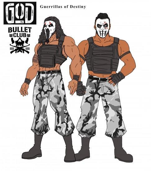 bullet club wallpaper hd,action figur,erfundener charakter,illustration,kostüm,persönliche schutzausrüstung
