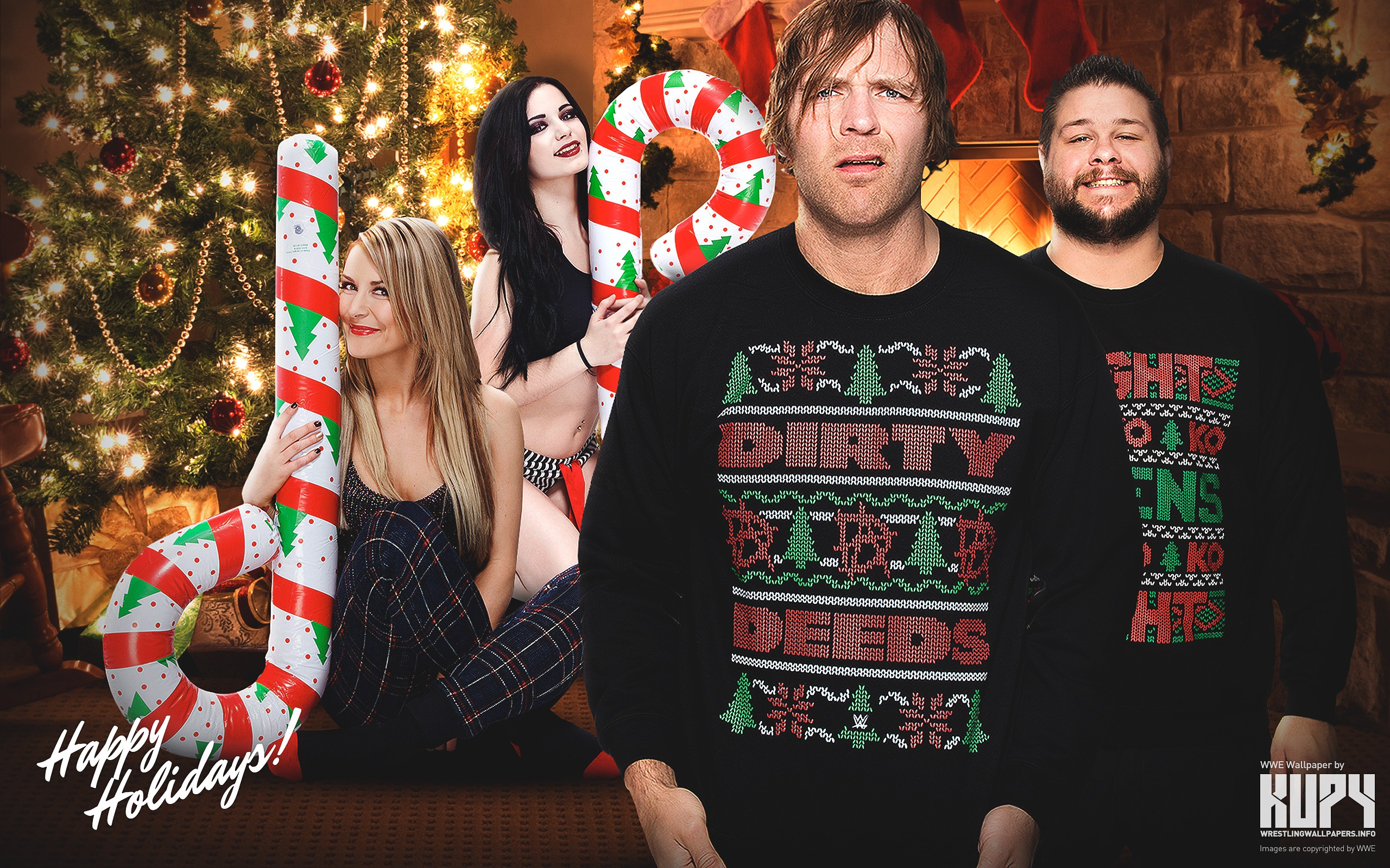 bullet club wallpaper hd,christmas,event,fun,holiday,photography