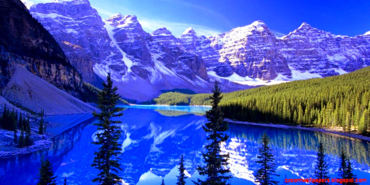 nature wallpapers for desktop background full screen,natural landscape,nature,mountain,reflection,mountainous landforms